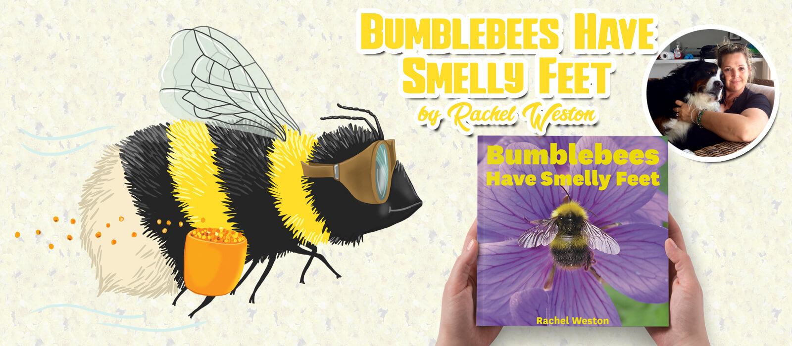bumblebees have smelly feet book