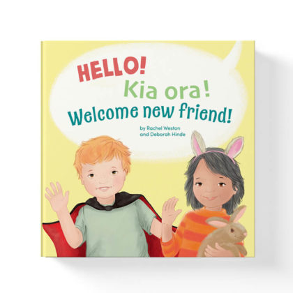 hello kia ora welcome new friend book by rachel weston