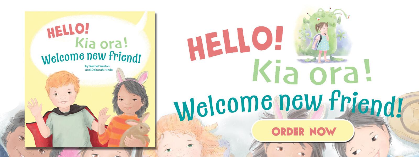 hello kia ora childrens book rachel weston