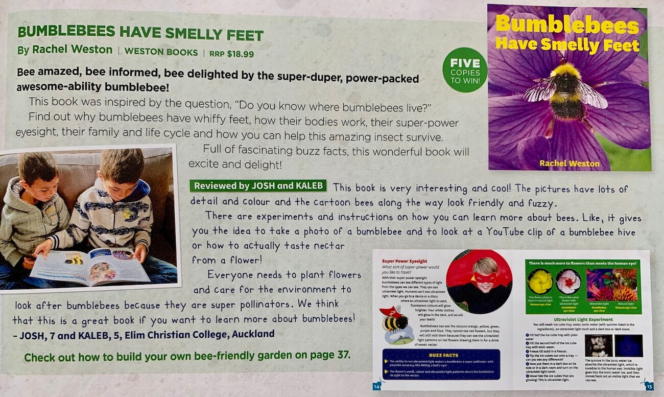 Bumblebees Have Smelly Feet Review – Upstart Magazine