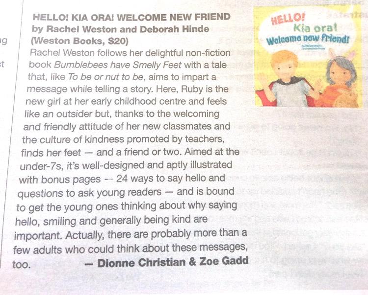 Hello! Kia ora! Welcome new friend! Review – Canvas/NZ Herald