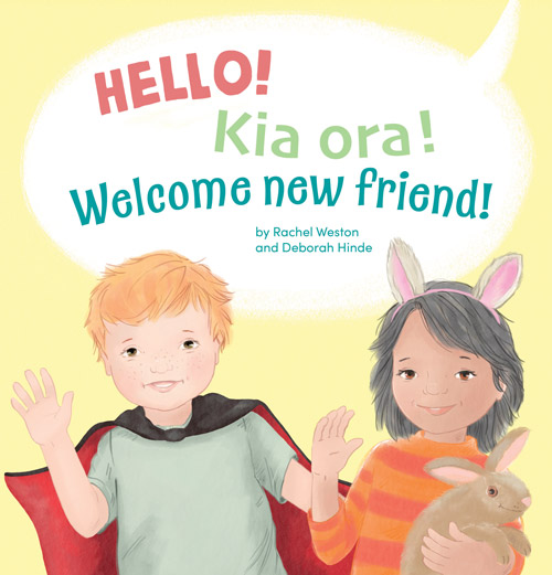 hello kia ora childrens book cover