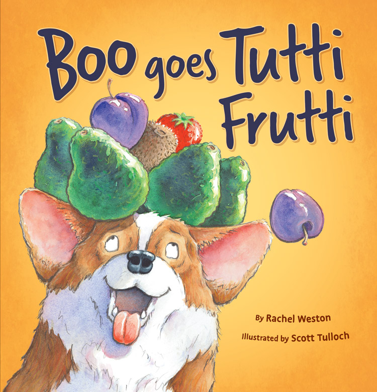 boo goes tutti frutti book cover
