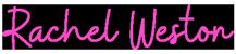 rachel weston logo