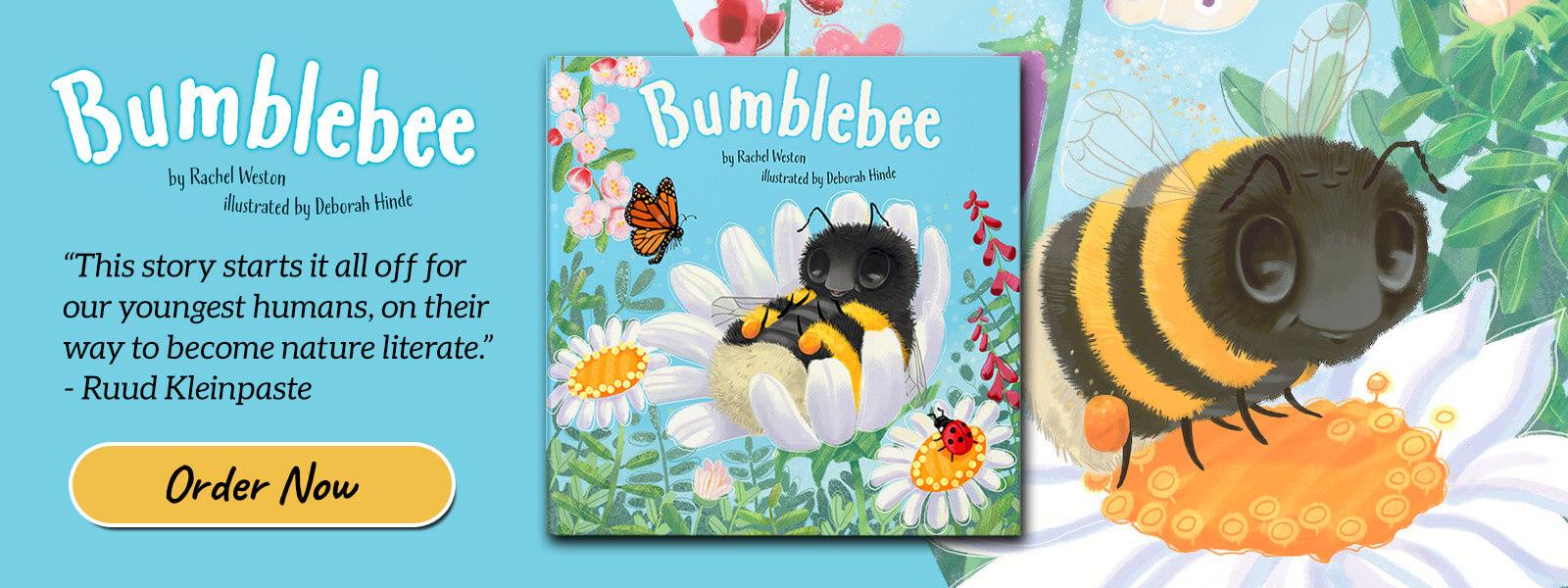 bumblebee book banner rachel weston